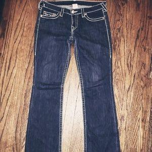 Womens True Religion bootcut jeans sz 30x34